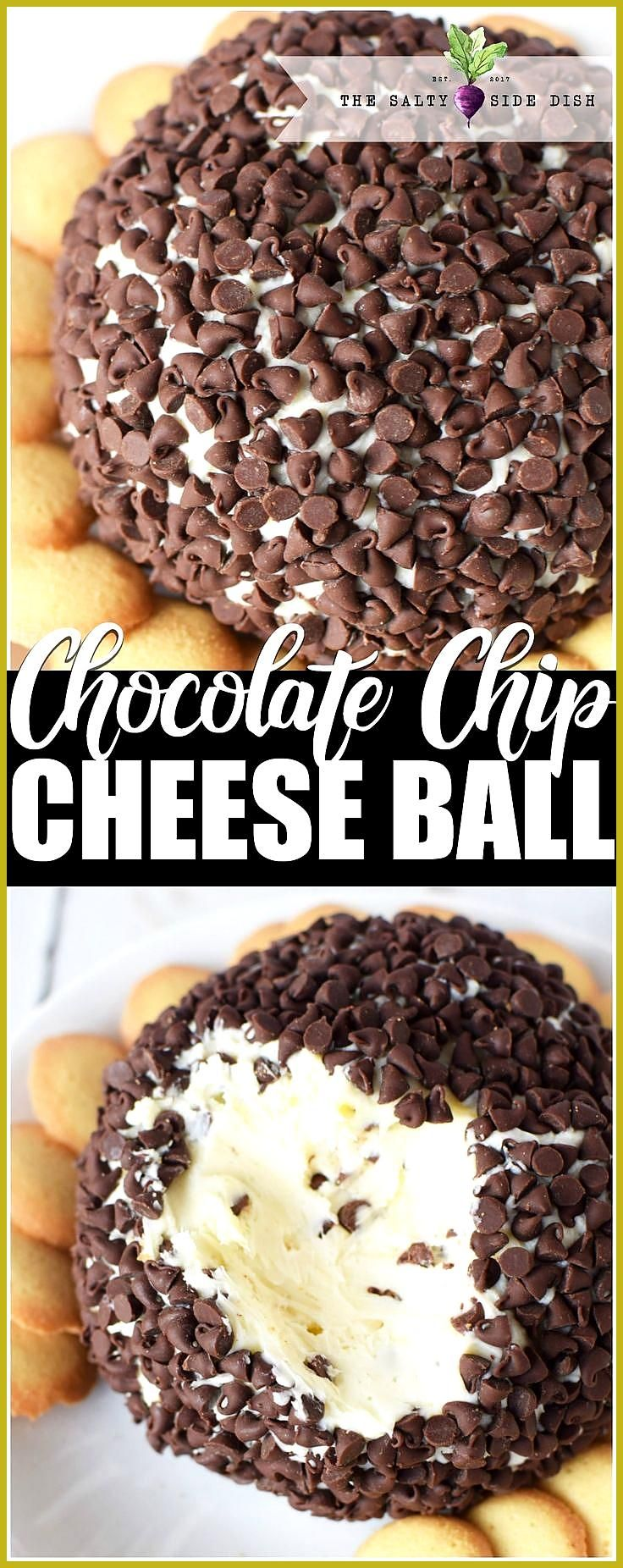 Chocolate Chip Cheese Ball Recipe an easy holiday appetizer that is so delicious and creamy appetiz