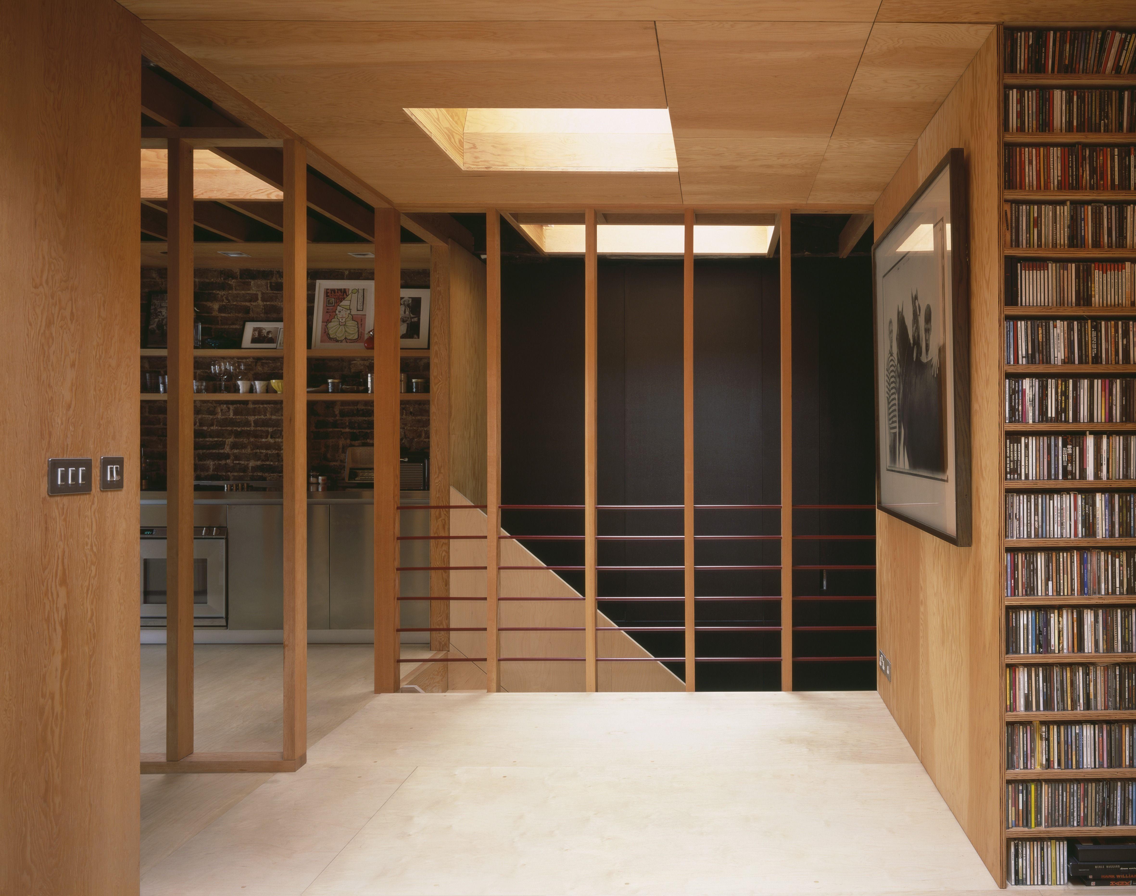 Frame House Jonathan Tuckey Design Holland Park London Uk