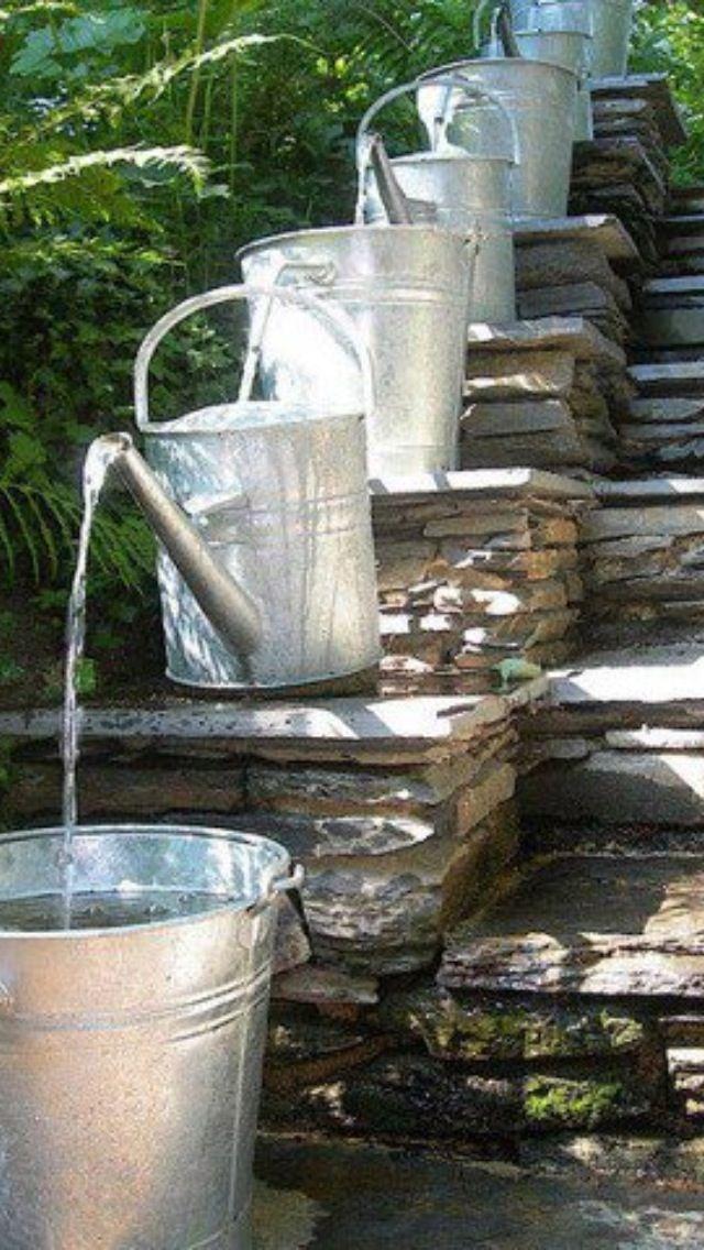 Vattenkannor home and garden pinterest fuentes de - Fuentes de agua decoracion ...
