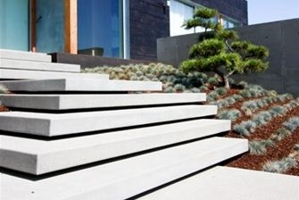 Best Wide Cantilevered Front Steps From Landscapingnetwork 400 x 300