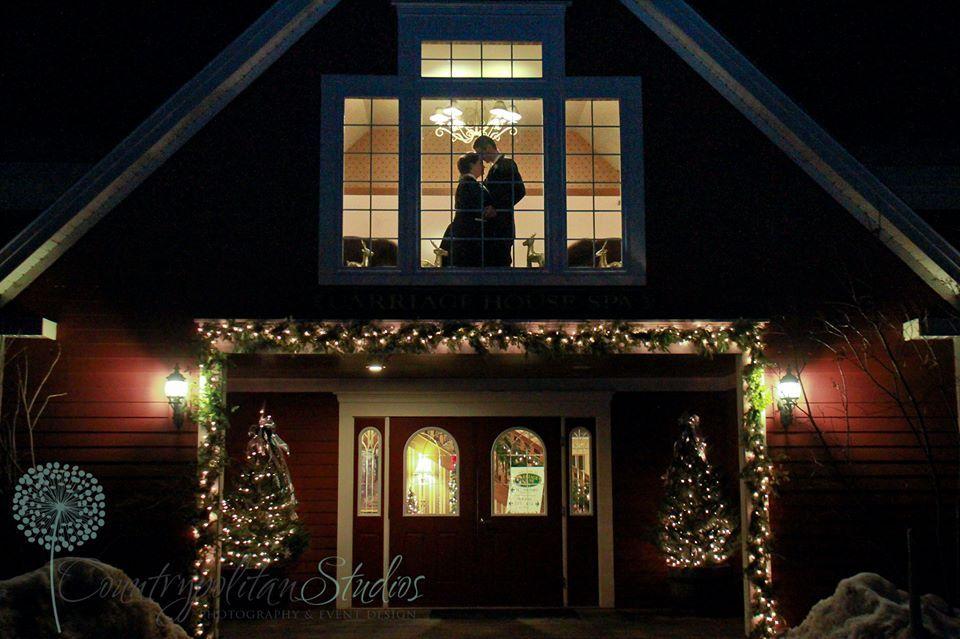 Winter Wedding Venue Christmas Farm Inn, Jackson, NH