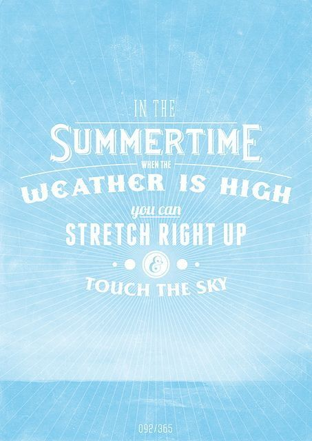 Summer Colors Quotes Concept