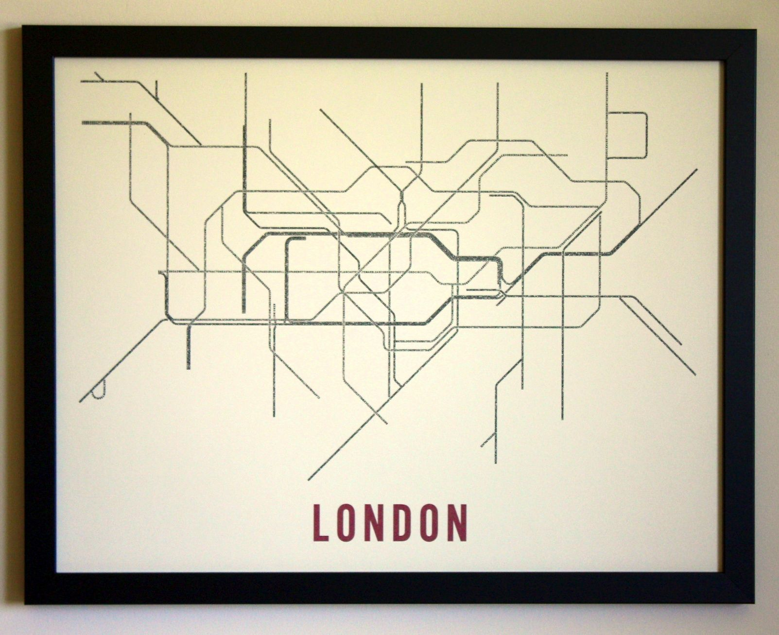 Simplified Map Of London.Fadeout Design Have Simplified The Tube Map Even Further To Create