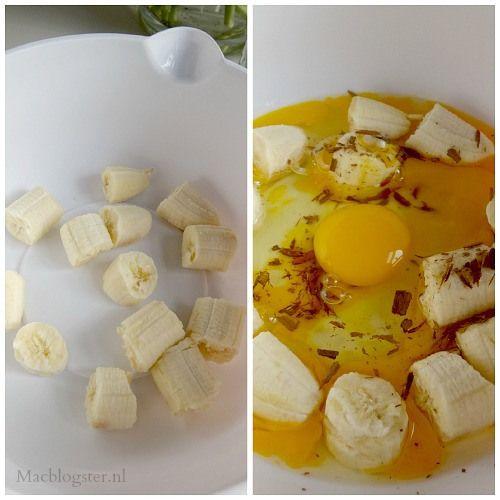 NL: Pannenkoeken maken met banaan & ei, zonder melk & bloem EN: Pancakes made with only banana & eggs, without flower, milk & butter