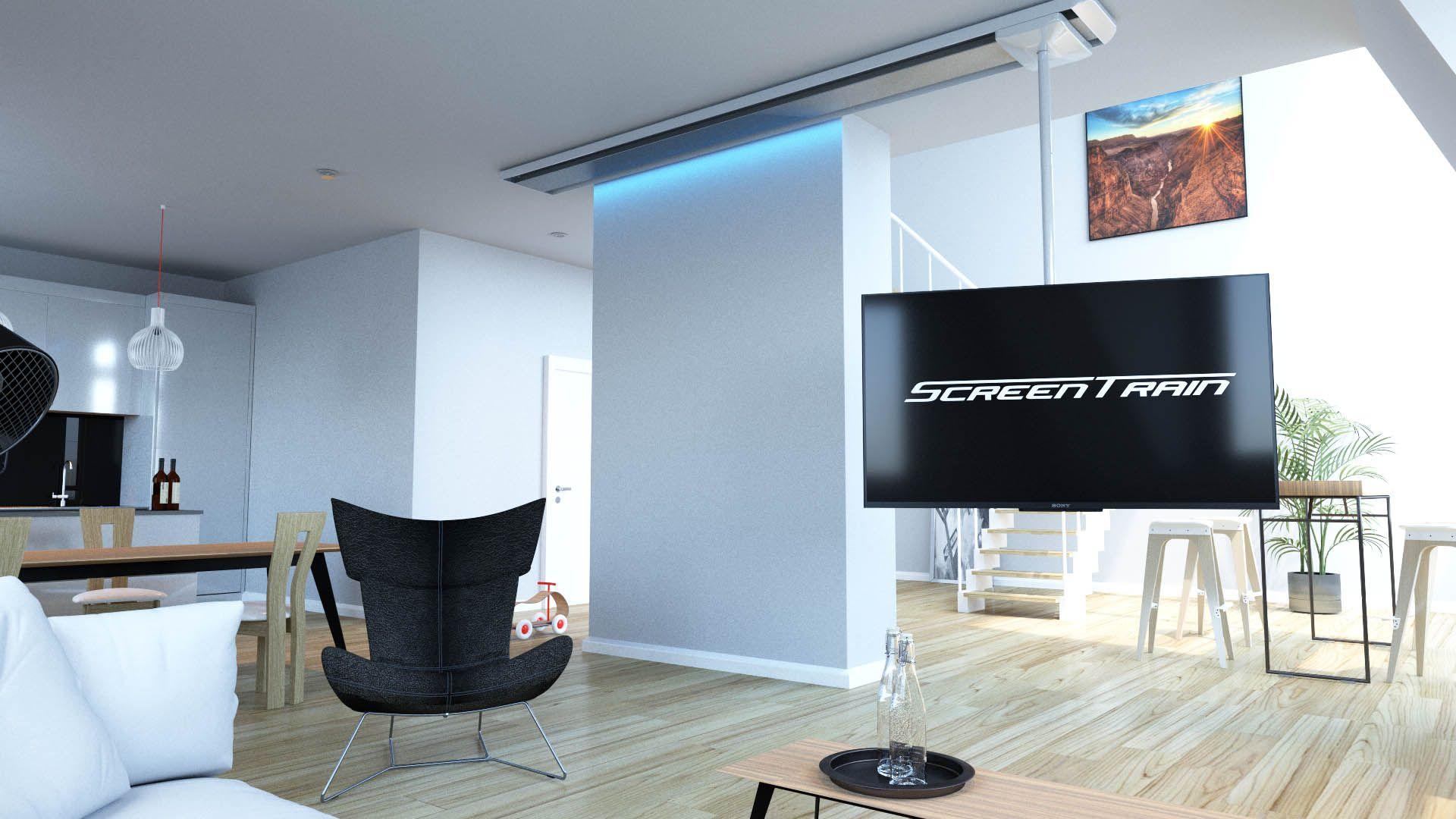 Tv Halterung Fur Decke Verschiebbar Drehbar Neigbar Mit Optionaler Led Beleuchtung Tv Ceiling Mount Tv Halterung Tv Halterung Decke Tv Halterung Schwenkbar