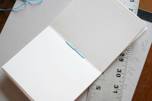 Making A Handmade Book An Art And Sewing Project Using