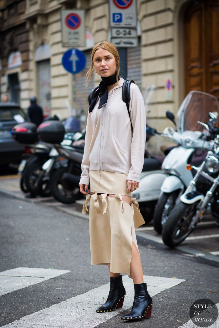 169e912f6df3d Pernille Teisbaek Street Style Street Fashion Streetsnaps by STYLEDUMONDE  Street Style Fashion Photography