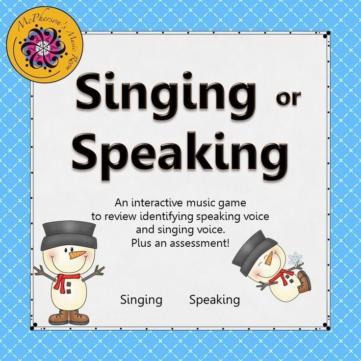 Reinforcing the singing voice vs the speaking voice is now fun! Your elementary music students will love watching the snowman dance when they select the correct answer! You will love the assessment included. Get ready for giggles when they select the correct answer.  Great music resource!