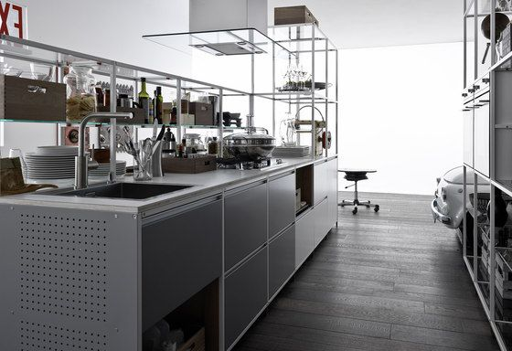 Fitted Kitchens | Kitchen Systems | Meccanica Metal | Demode,