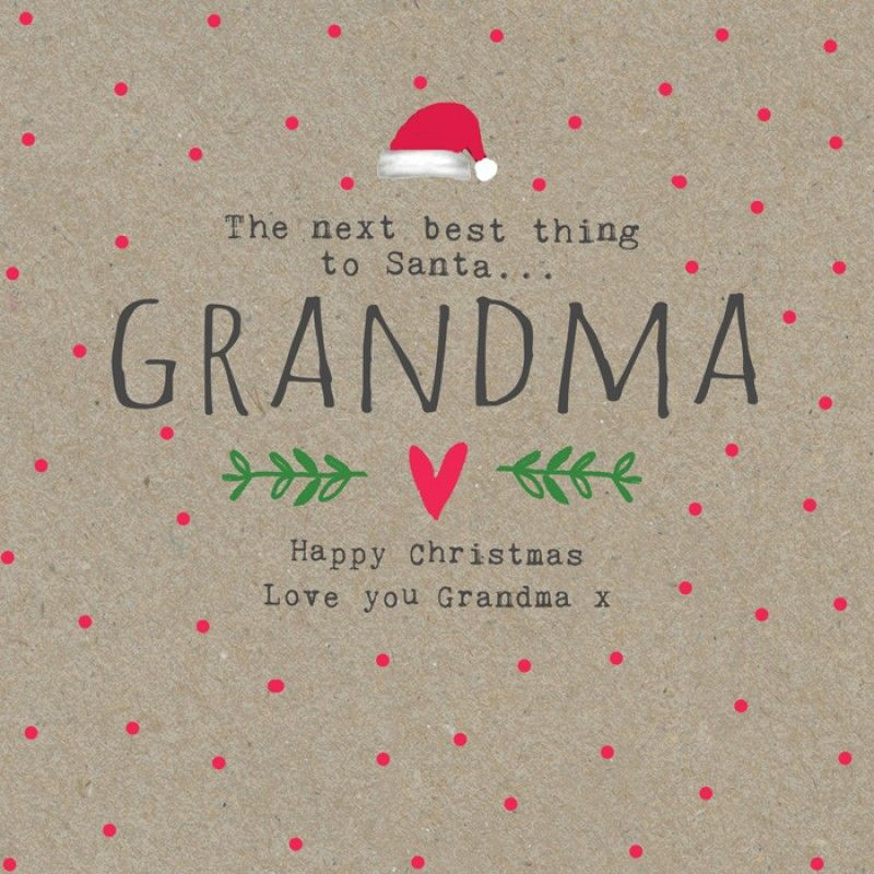 Download Love you Grandma (With images) | Cards, Christmas love ...