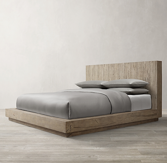 Aspen French Oak Bed Bed Without Footboard Oak Beds French Oak