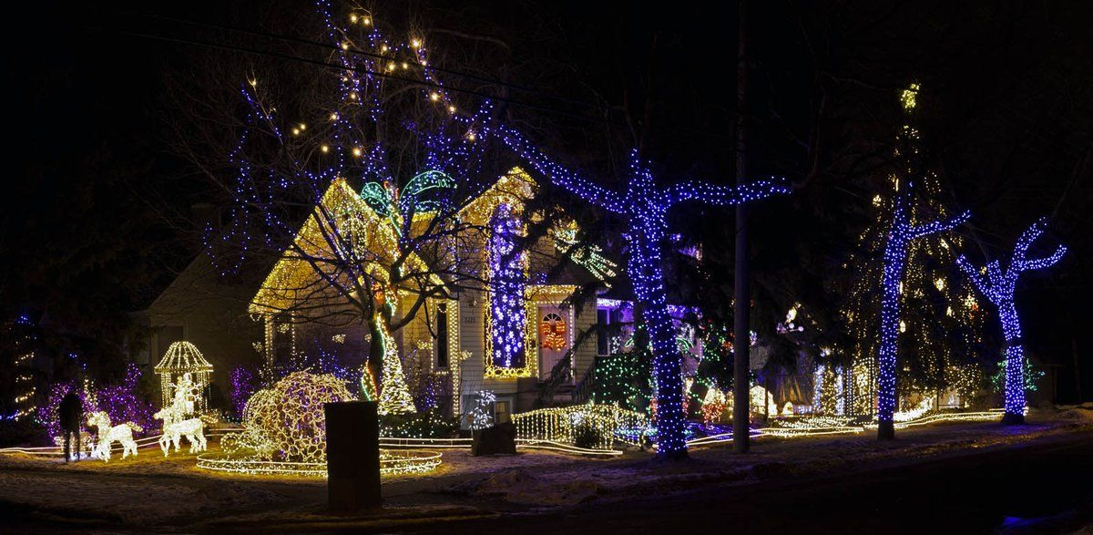 Best Edmonton Christmas Light Displays Christmas scenery