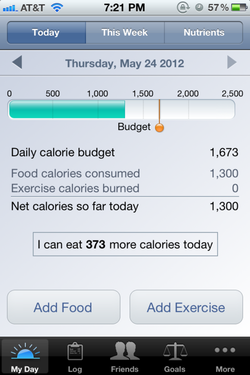 I use this app (loseit.com) and find it really helpful and easy to use.
