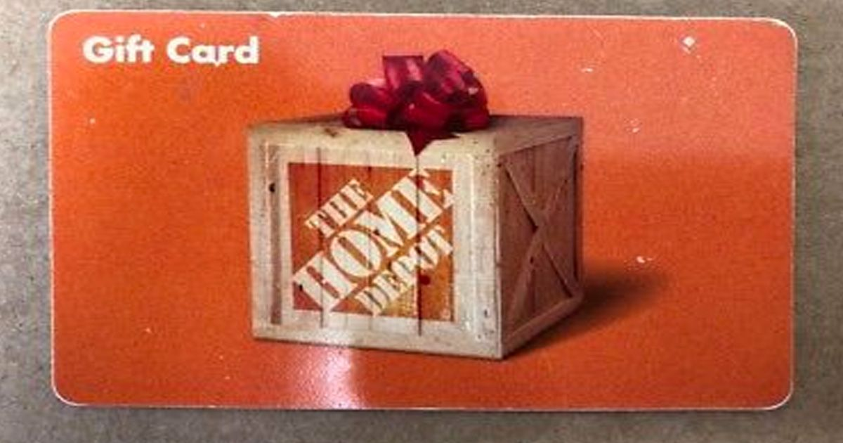 Home Depot Gift Card Giveaway Gift Card Balance Gift Card Popular Gift Cards