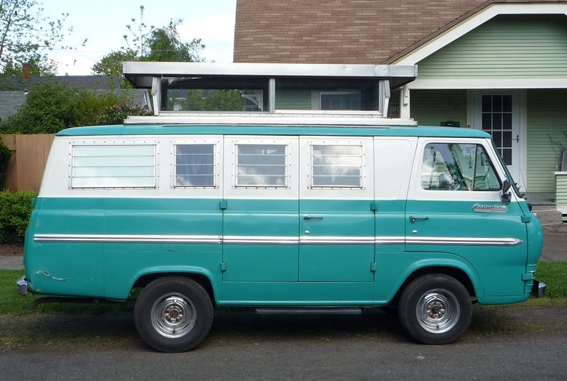 Mine Was A 1966 Ford Econoline Super Van It Was Light Blue And