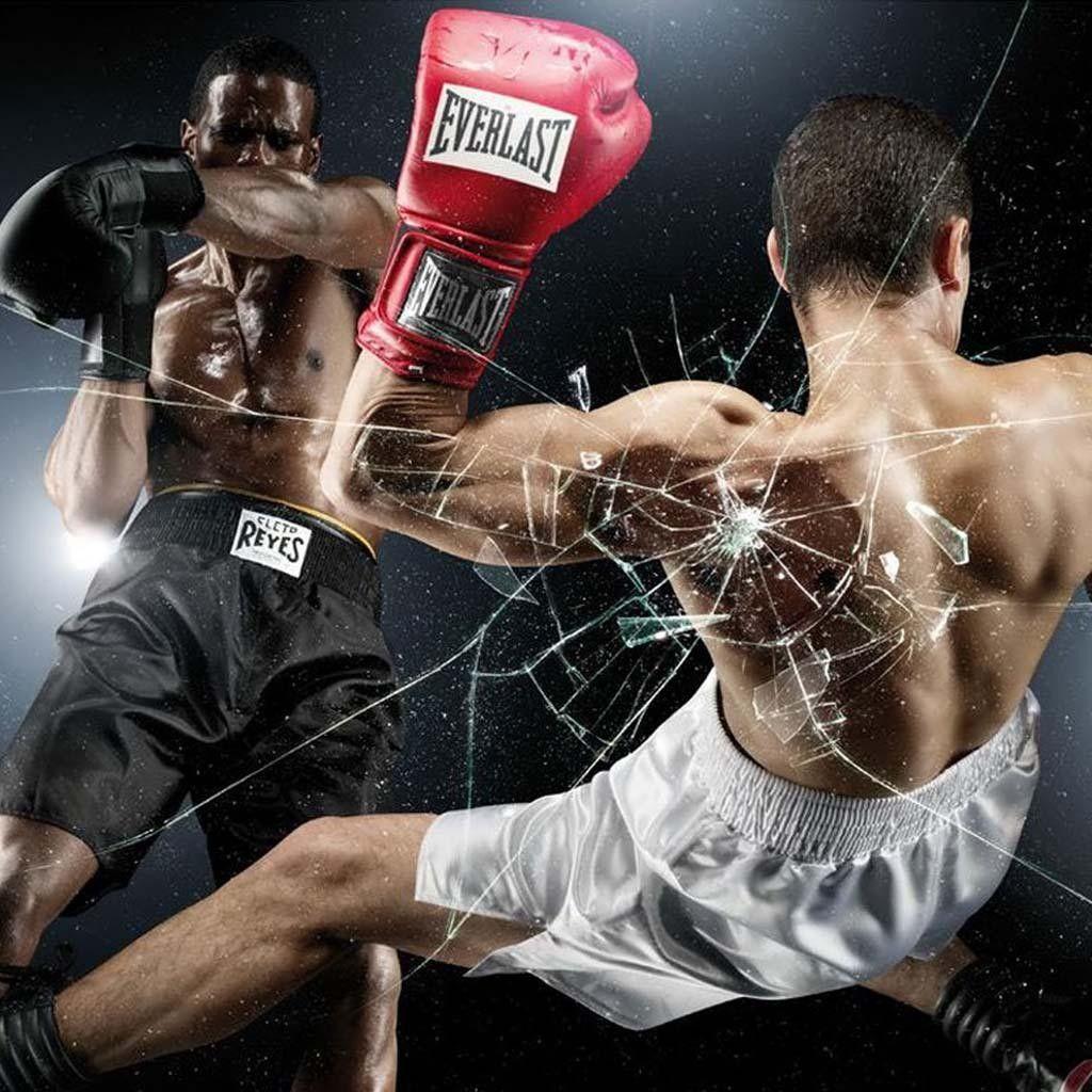 Pin de el Pumas 02 González en super Kick boxing, Boxeo