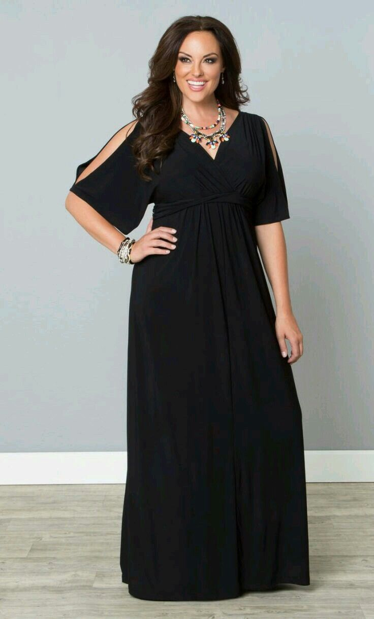 Semi-Formal Plus Size Maxi Dresses