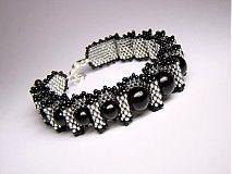 Náramky - Black diamond - 3428214