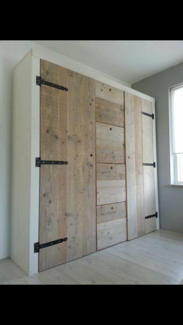 stunning slaapkamer garderobe kledingkast kastdeuren