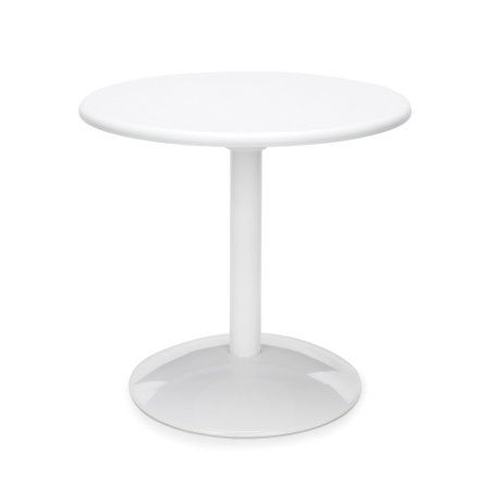 Orbit Table 24 inch Round -Cherry Top, White Rounding, Walmart and