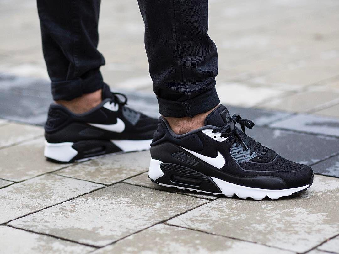 Femme Nike airmax 90 S Noir Nouveau trainersw