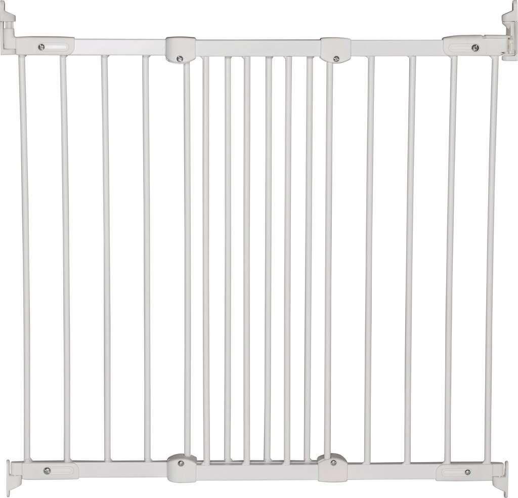 Babydan Flexi Fit Metal door frame, white (67-105.5 cm)