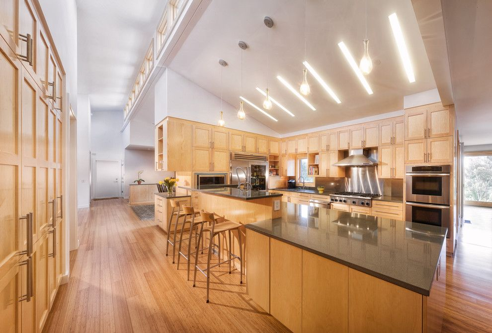 Sloped Ceiling Lighting Kitchen