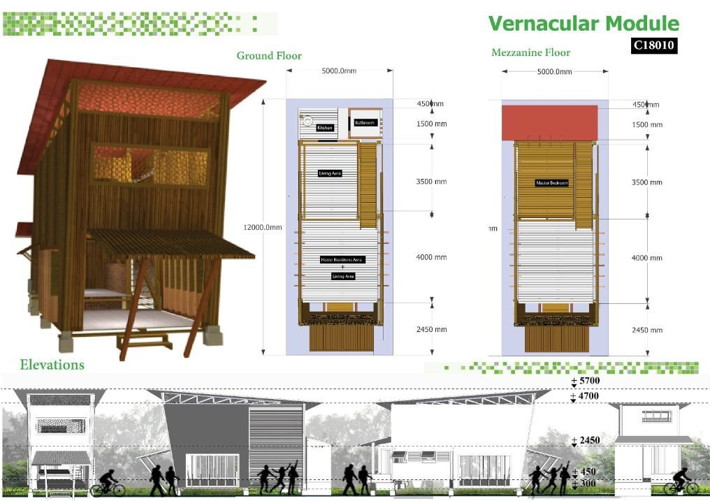 Vernacular Module Cambodian Sustainable Housing Competition Entry