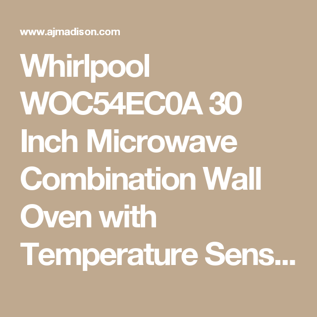 Whirlpool 30 Inch Smart Combination Wall Oven | Oven 2514