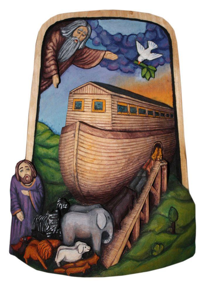 Noah's Ark from:  http://www.finestfolkart.com/p155_Noah039s-Ark.html
