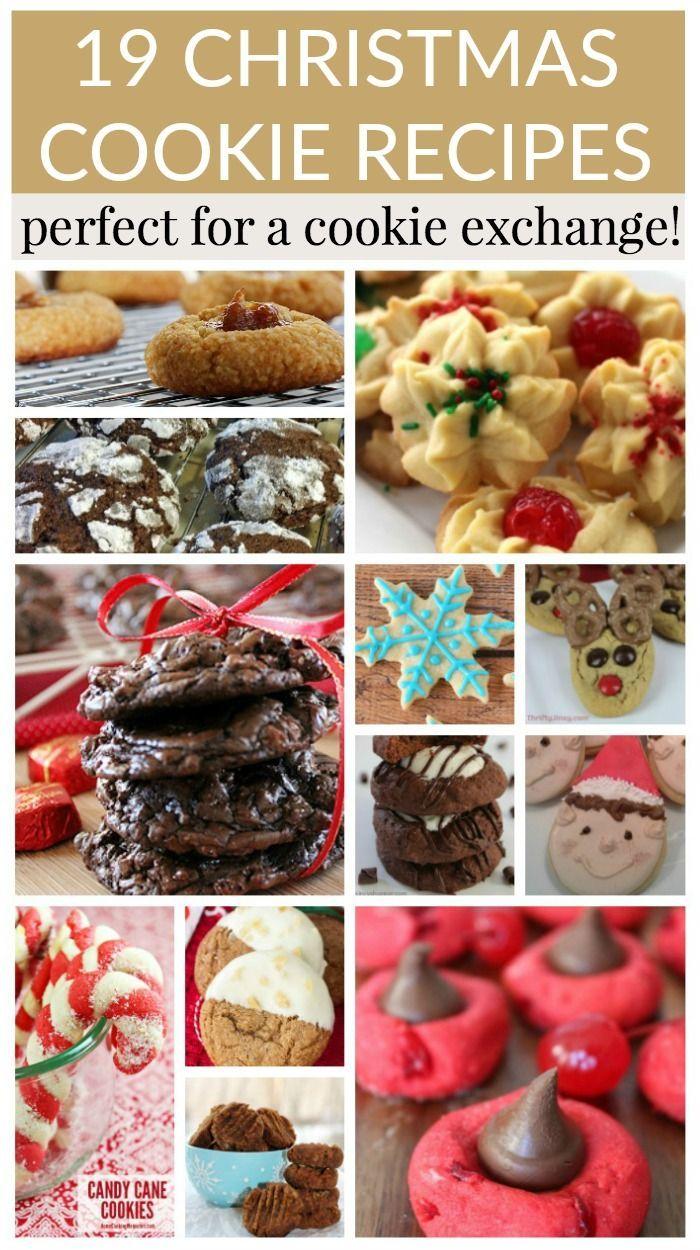 19 Christmas Cookie Recipes Christmas Ideas Holiday Ideas