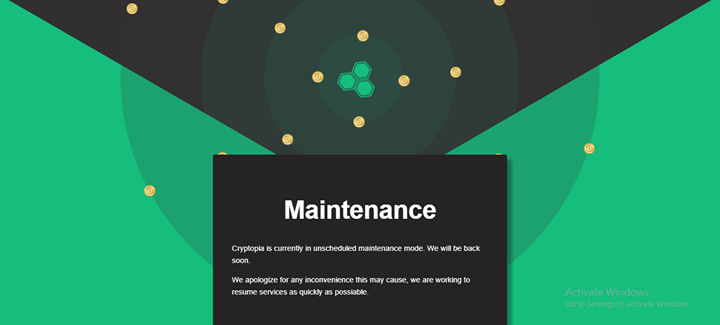 Maintenance Cryptopia Is Currently In Unscheduled Maintenance Mode We Will Be Back Soon We Apologize For Any Inconve Resume Services Maintenance Resume