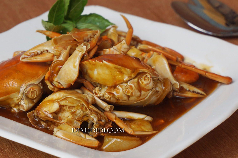 Diah Didi's Kitchen Kepiting Asam Manis Makanan