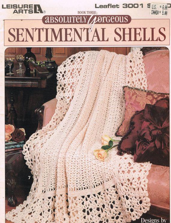 CROCHET PATRONES - los afganos conchas Sentimental absolutamente ...