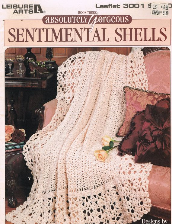CROCHET PATTERN - Absolutely Gorgeous Sentimental Shells Afghans ...