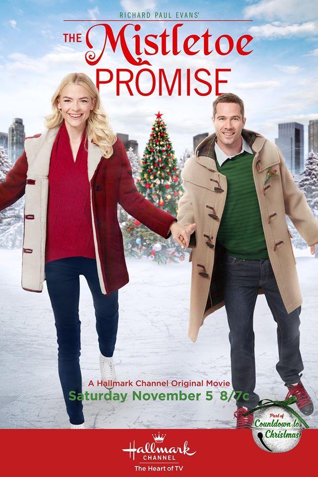 The Mistletoe Promise on Hallmark Channel Nov 5th   Hallmark Movies ...