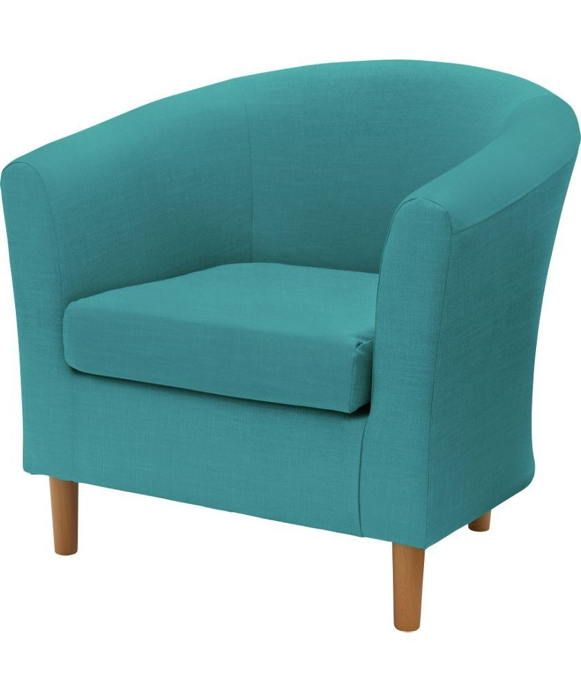 Buy ColourMatch Fabric Tub Chair - Lagoon at Argos.co.uk - Your ...