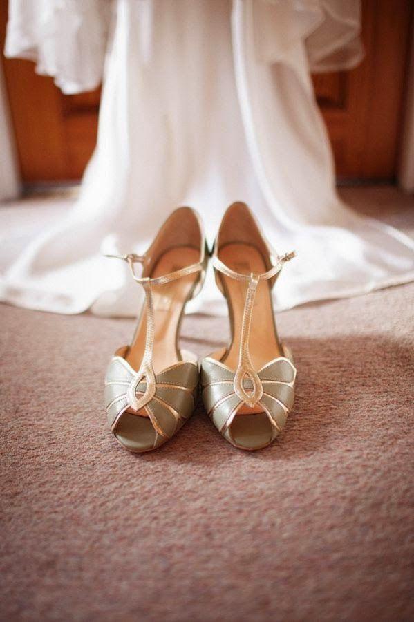 zapatos de verdadero ensueño para bailar, no sólo para casarse