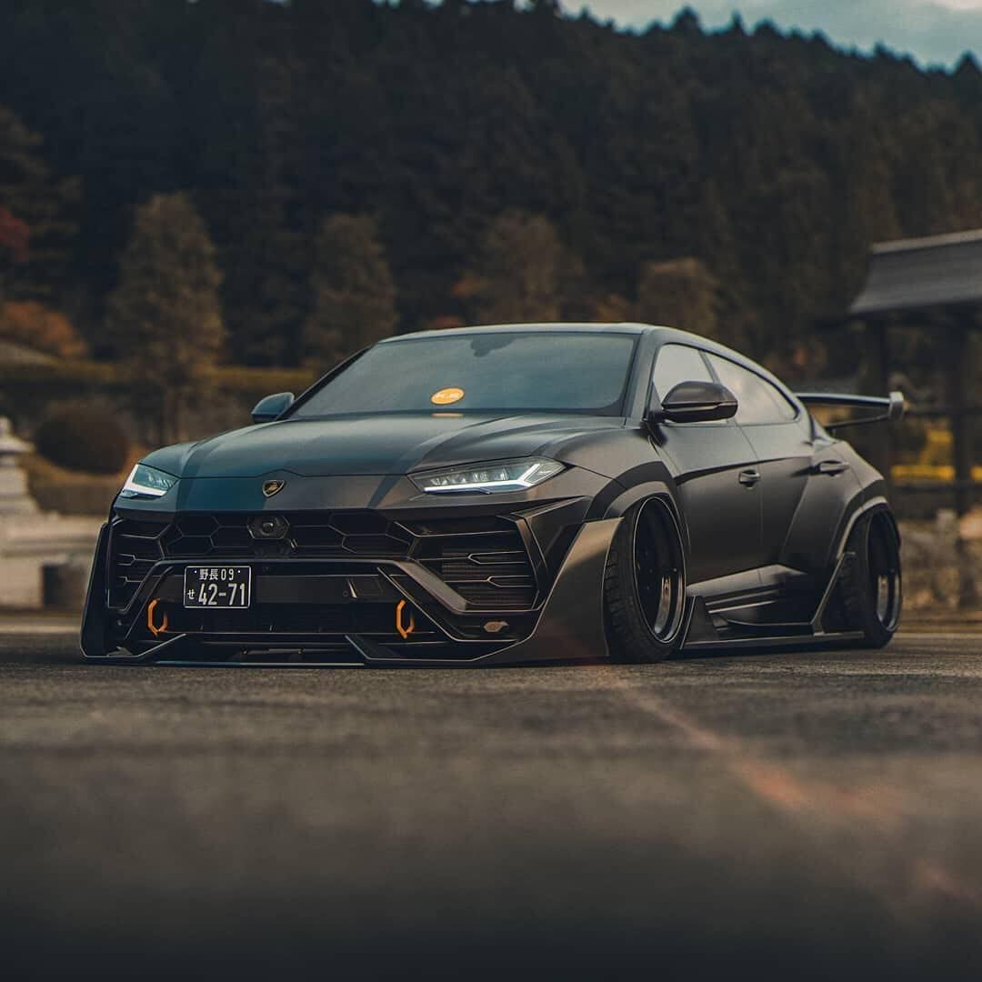Slammed And Widebody Lamborghini Urus Or Design By