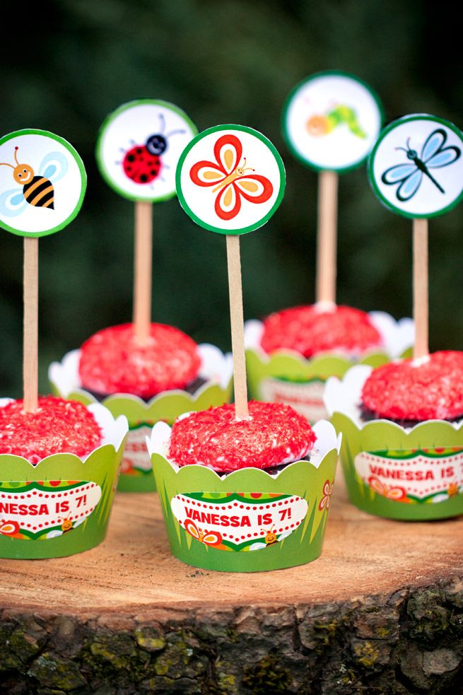 Lil' Bug Theme Birthday + Free Party Printables
