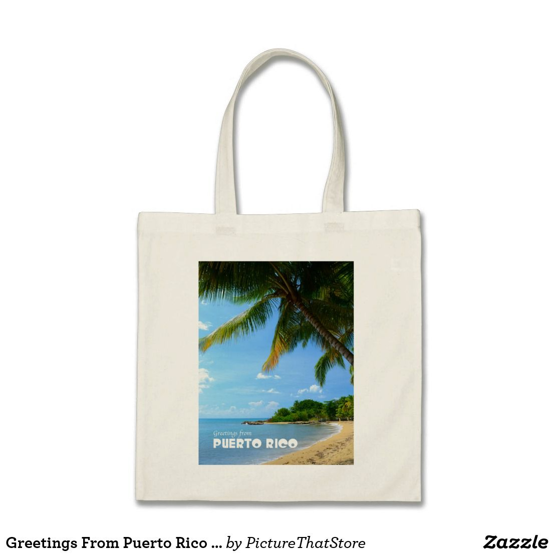Greetings from puerto rico tote bag puerto rico gifts from greetings from puerto rico tote bag m4hsunfo