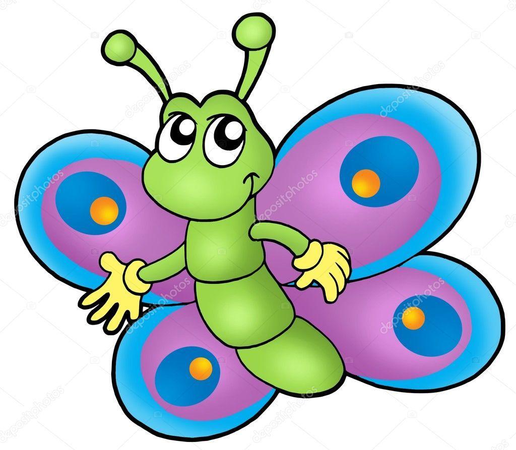 Mariposa Pequena Historieta Imagen De Stock Dibujos Infantiles A Color Imagenes De Mariposas Animadas Imagenes De Dibujos Infantiles
