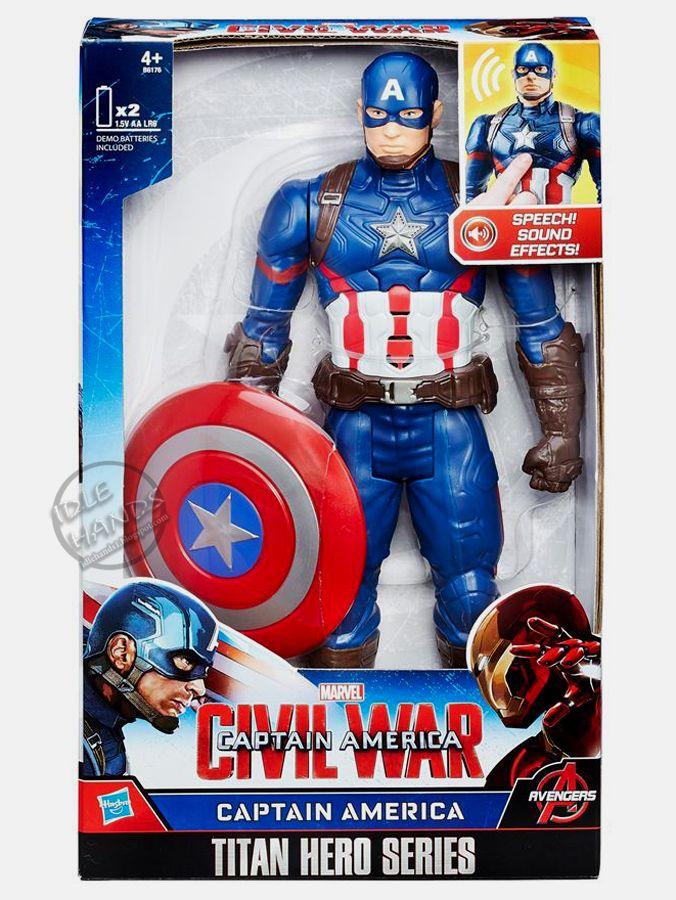 More Captain America Civil War Toys Revealed Captain America Captain America Toys Marvel Toys