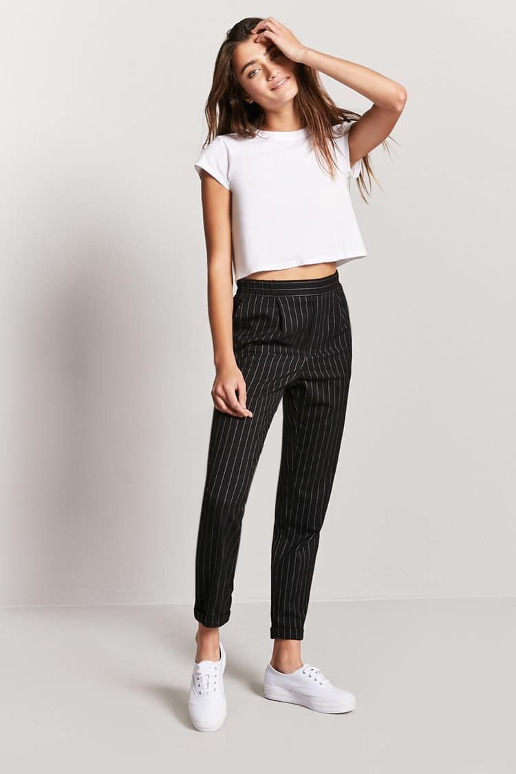 Photo of Tsuretobe New Fashion Pantaloni elasticizzati a gamba larga Bottone elastico da donna Pantaloni lunghi casual Palazzo Pantaloni a vita alta a vita bassa Bottom