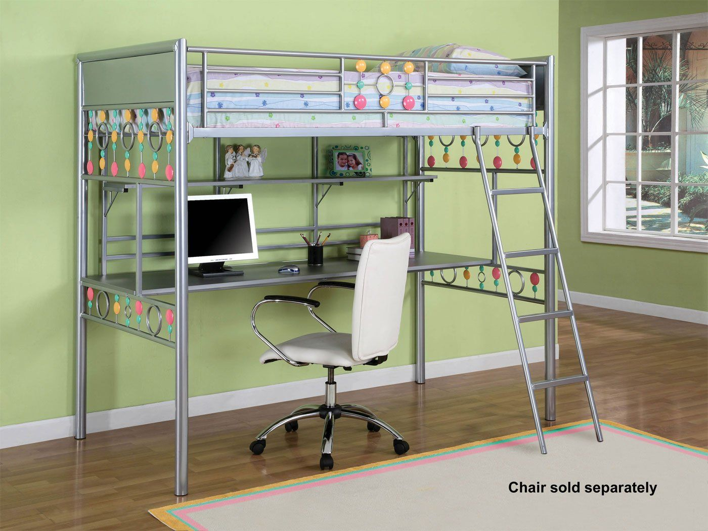 Bunk bed with desk ikea - Painting Of Ikea Full Loft Bed Ideas