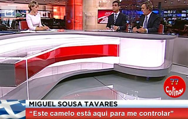 77 Colinas: BALSEMÃO DÁ UMA AJUDA AO GOVERNO