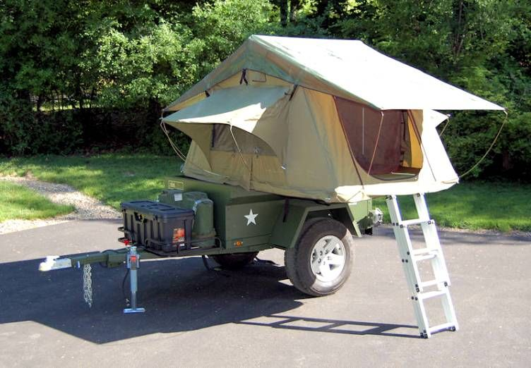 Jeep Trailer Build at home lightweight fiberglass tub kit with Roof Top Tent & Jeep Trailer Build at home lightweight fiberglass tub kit with ...