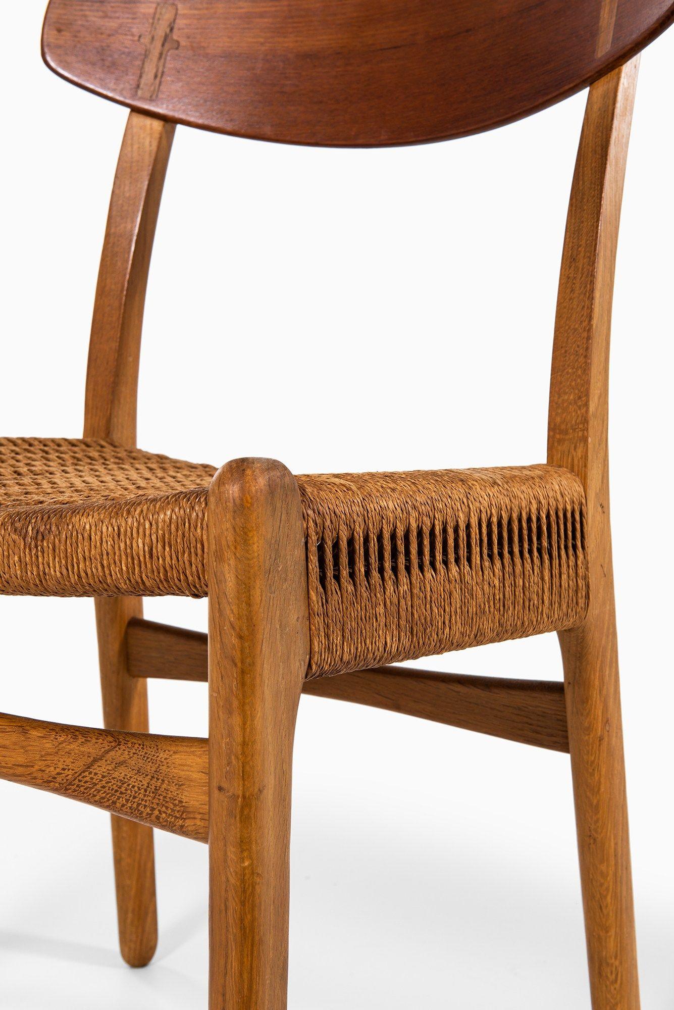 Hans Wegner Ch 23 Dining Chairs Mobler