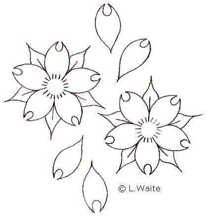 Cherry Blossom Tattoo Outline Drawing Cherry Blossom Tattoo Japanese Flower Tattoo Black And White Flower Tattoo