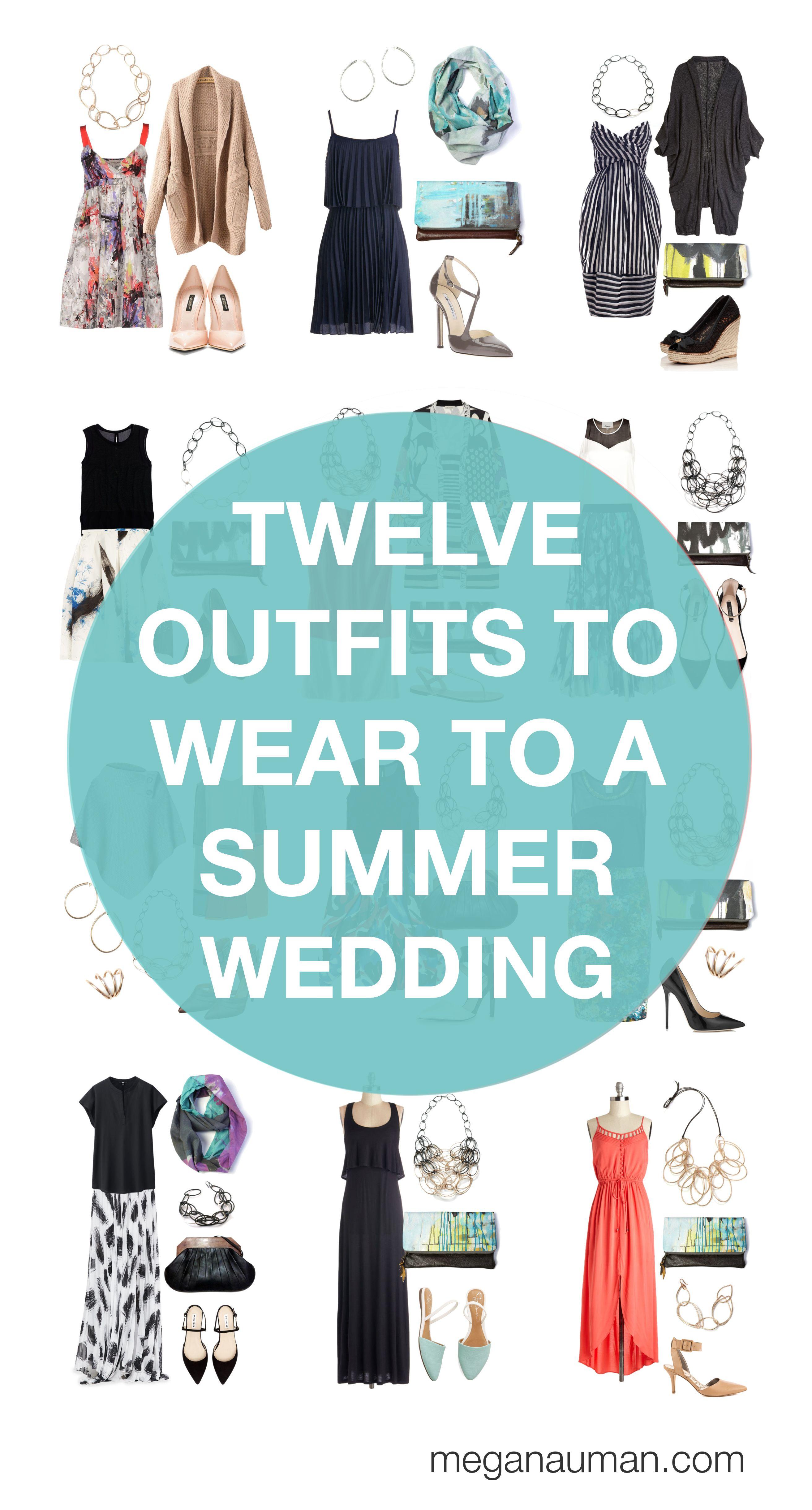 0c274d4c28a6 what to wear to a summer wedding  12 outfit ideas via megan auman